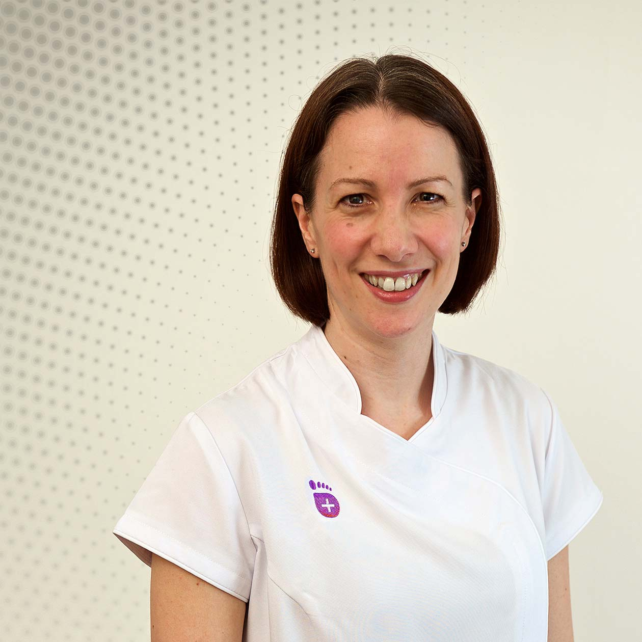 Senior Podiatrist and Practice Manager Helen Gough  - Birmingham Foot Clinic